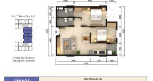 Thi Công Hoàn Thiện Chung Cư Sky 9 Quận 9 (2 Phòng Ngủ) 100
