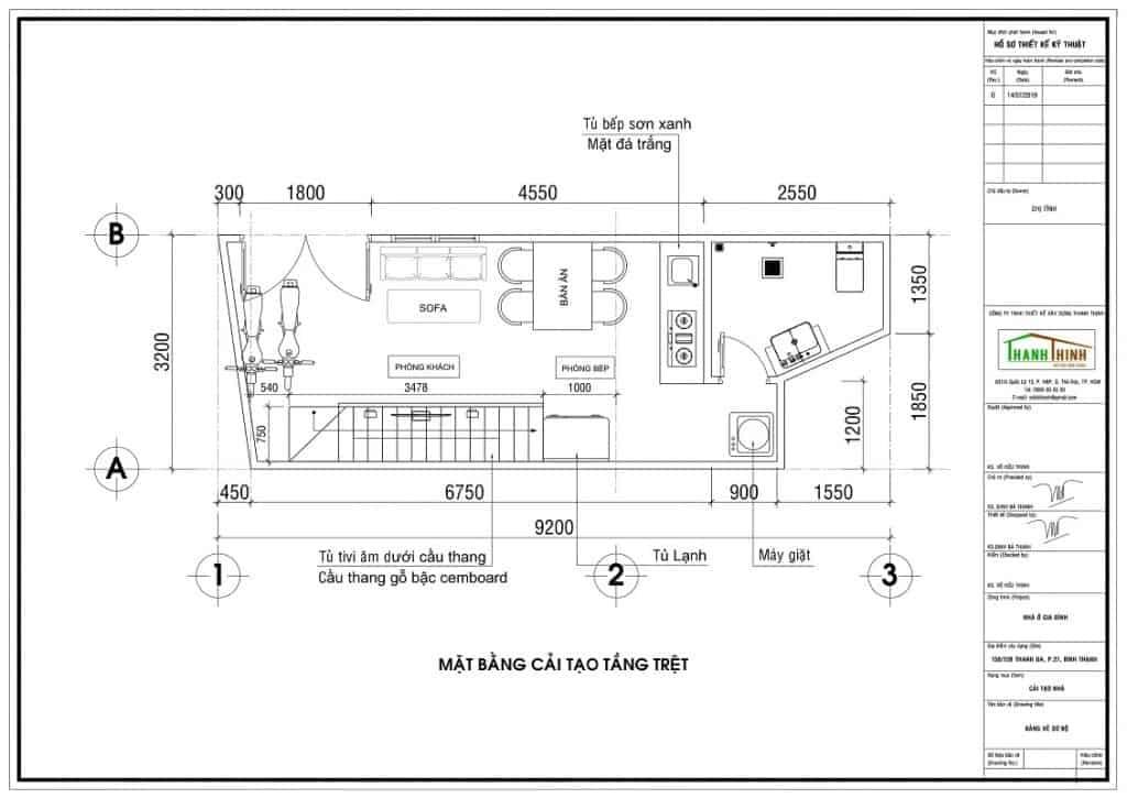 Sửa Chữa Nhà Bình Thạnh Đẹp Như Xây Dựng Mới 3x9m 1