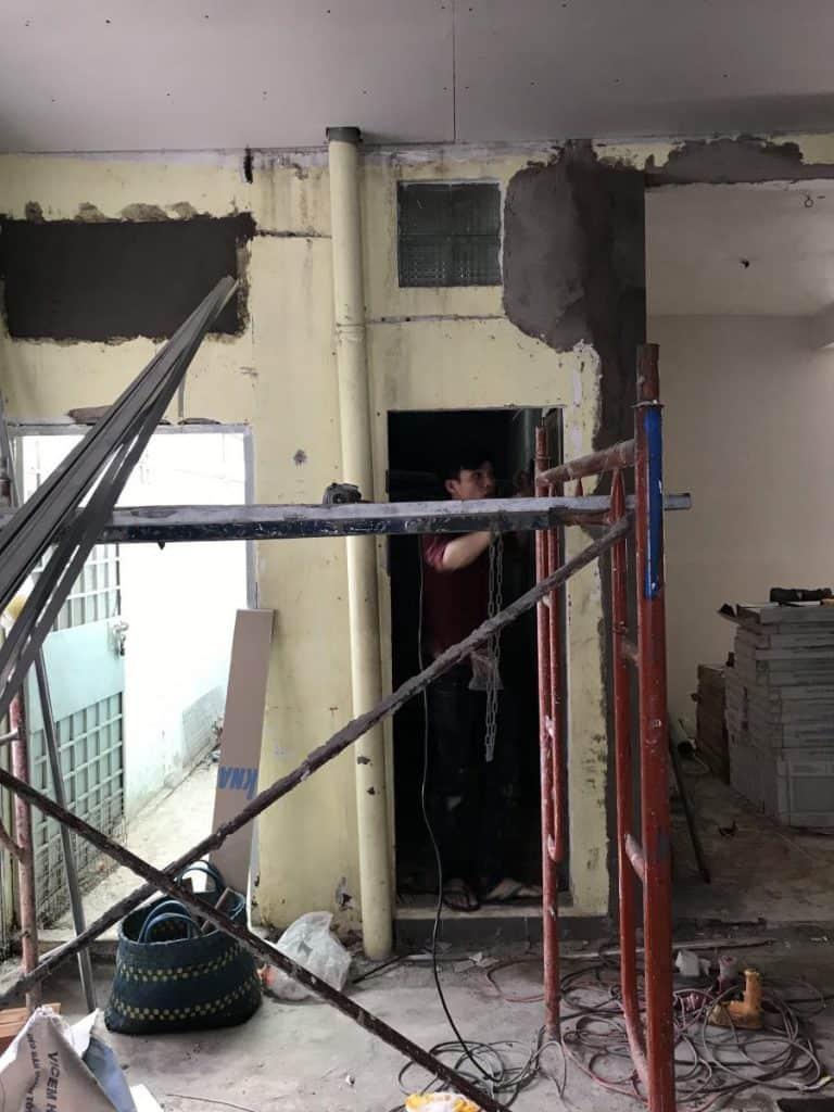 Sửa Chữa Nhà Ở Văn Phòng Cư Xá 830 Sư Vạn Hạnh, Quận 10 1