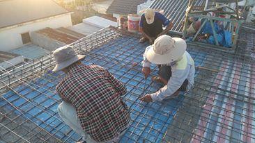 Thi công nâng tầng bê tông cốt thép nhà 6x10m Q. Thủ Đức 2