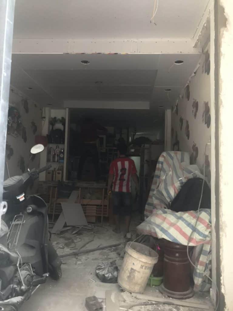 Thi công sàn gác lửng cemboard Thái Lan ở Nguyễn Tiểu La, Quận 10 HCM 3