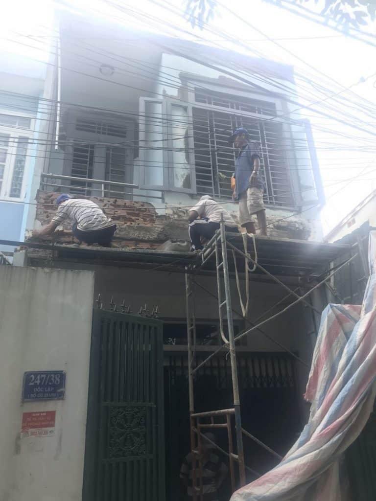 Địa chỉ sửa nhà ở giá rẻ quận Tân phú – Công ty Sửa nhà