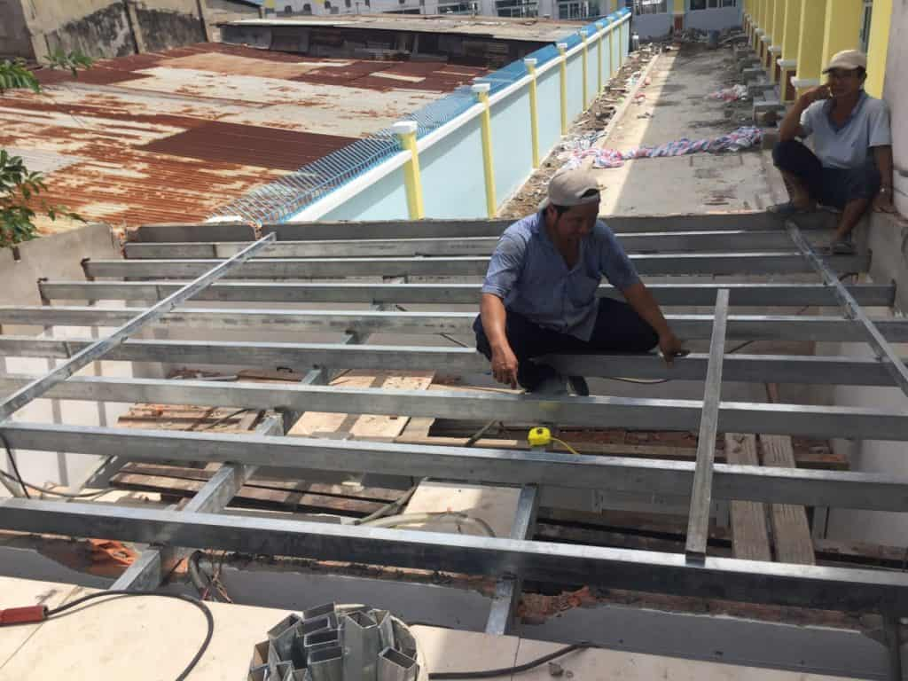 Dịch vụ sửa chữa nhà phố ở Quận 8 TPHCM