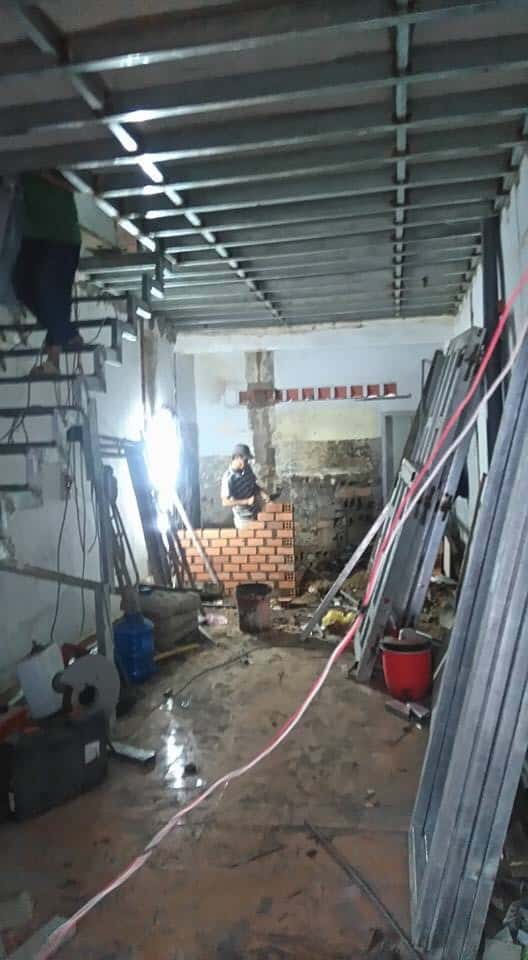 Nâng Tầng Tấm Cemboard Nhà Lê Hồng Phong, Quận 10, HCM 9