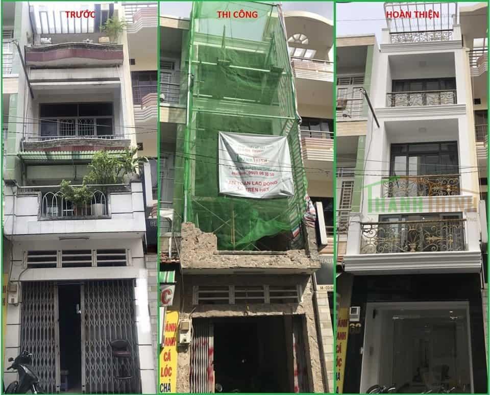 Sửa Chữa Nhà Ở Phú Nhuận 3 Tầng Đẹp Hơn Xây Dựng Mới 1