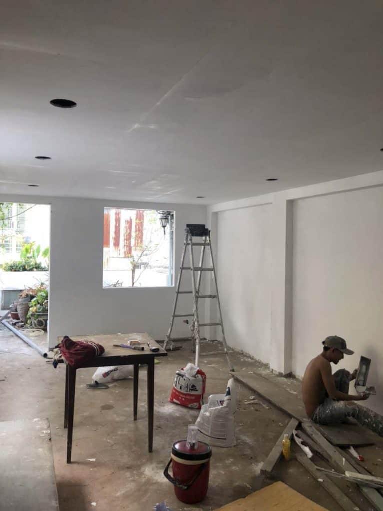 Chống thấm cải tạo tolet và xây thêm phòng sân thượng ở Phú Nhuận 3