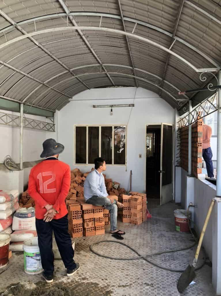 Chống thấm cải tạo tolet và xây thêm phòng sân thượng ở Phú Nhuận 1