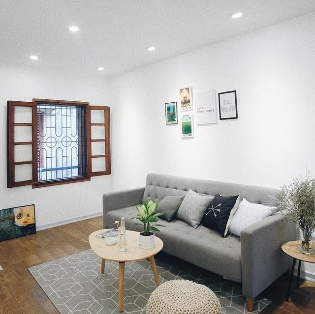 Căn hộ chung cư số 1 sau khi cải tạo trở nên sang trọng và tinh tế hơn