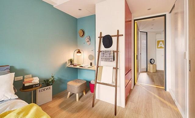Không gian sống đầy tiện nghi dành cho cặp vợ chồng trẻ sau khi đã cải tạo