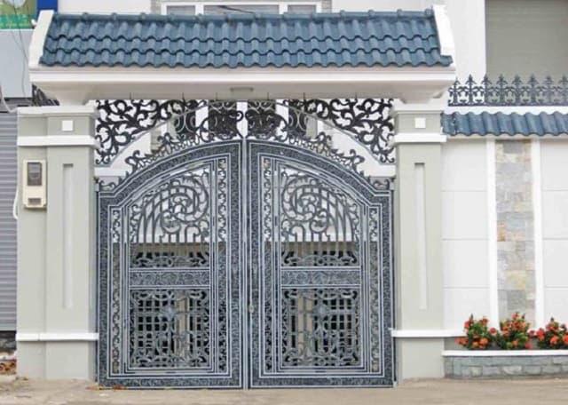Dự án cửa cổng thứ 3 sau khi cải tạo trở nên sang trọng hơn