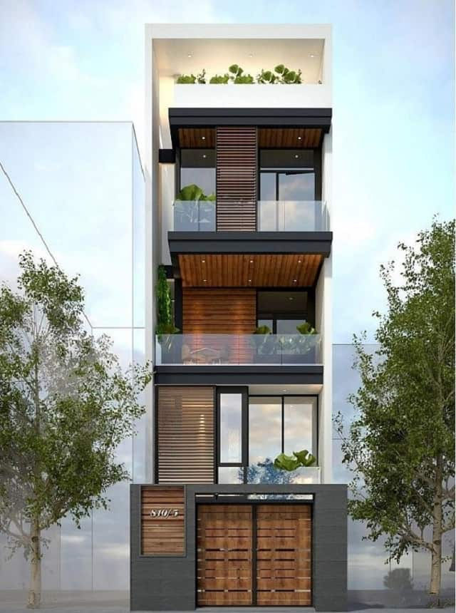Sửa chữa, cải tạo nhà 4 tầng đẹp và phù hợp