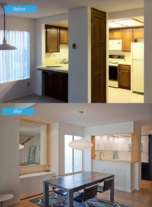 Căn phòng của nhà ở số 1 sau khi cải tạo trở nên tinh tế, sang trọng hơn