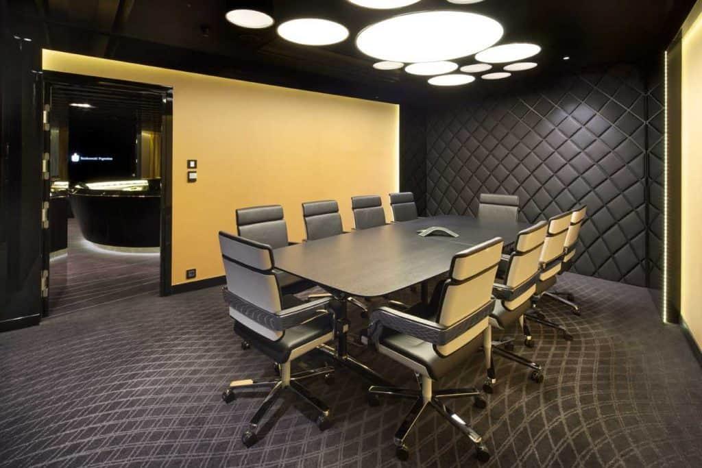 Phòng họp số 4 sau khi cải tạo mang tới sự thư thái nhất cho nhân viên