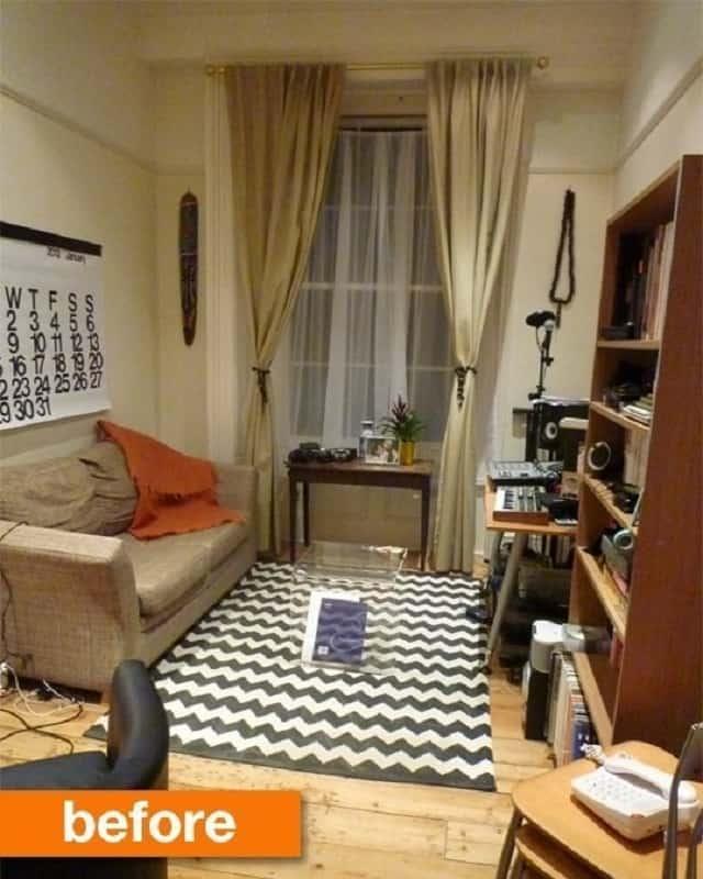 Phòng khách số 2 trước khi cải tạo