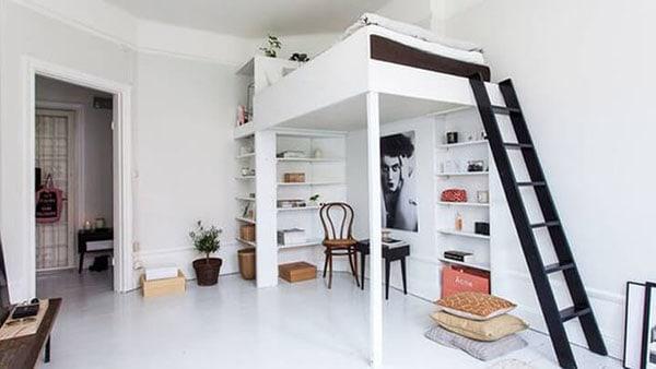 Với các kiểu nội thất thông minh sẽ là loại nội thất phù hợp nhất với các phòng trọ diện tích vừa và nhỏ