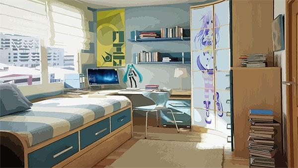 Thiết kế nội thất và màu sắc ấm cúng sẽ giúp người thuê có được những giây phút thoải mái nhất sau những giờ học tập, làm việc mệt mỏi