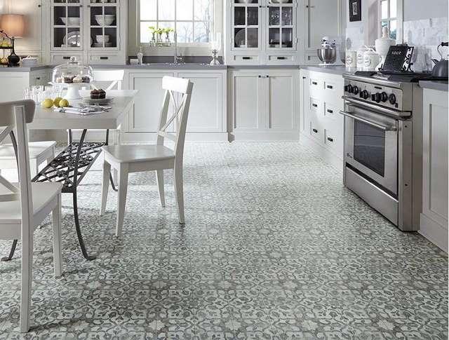 Sàn nhựa Vinyl có thể che đi các khuyết điểm trên mặt sàn một cách dễ dàng mà không phải cải tạo, thay mới sàn nhà