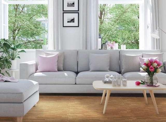 Thảm xốp ghép được sử dụng để lót sàn như một giải pháp giúp cải tạo lại sàn nhà nhanh chóng và tiết kiệm chi phí.