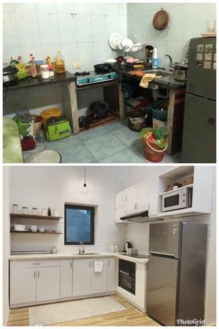 Cải tạo nhà bếp hiện đại hơn chưa bao giờ là câu hỏi khó với Thanh Tịnh