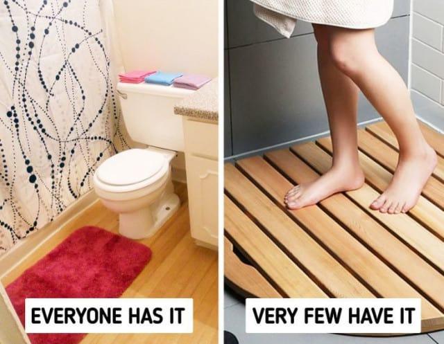Thiết kế phòng tắm với vật liệu tự nhiên
