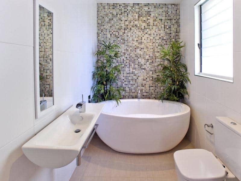mẫu phòng tắm có bồn tắm
