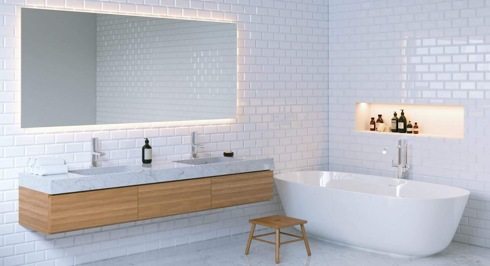 mẫu gương phòng tắm đẹp
