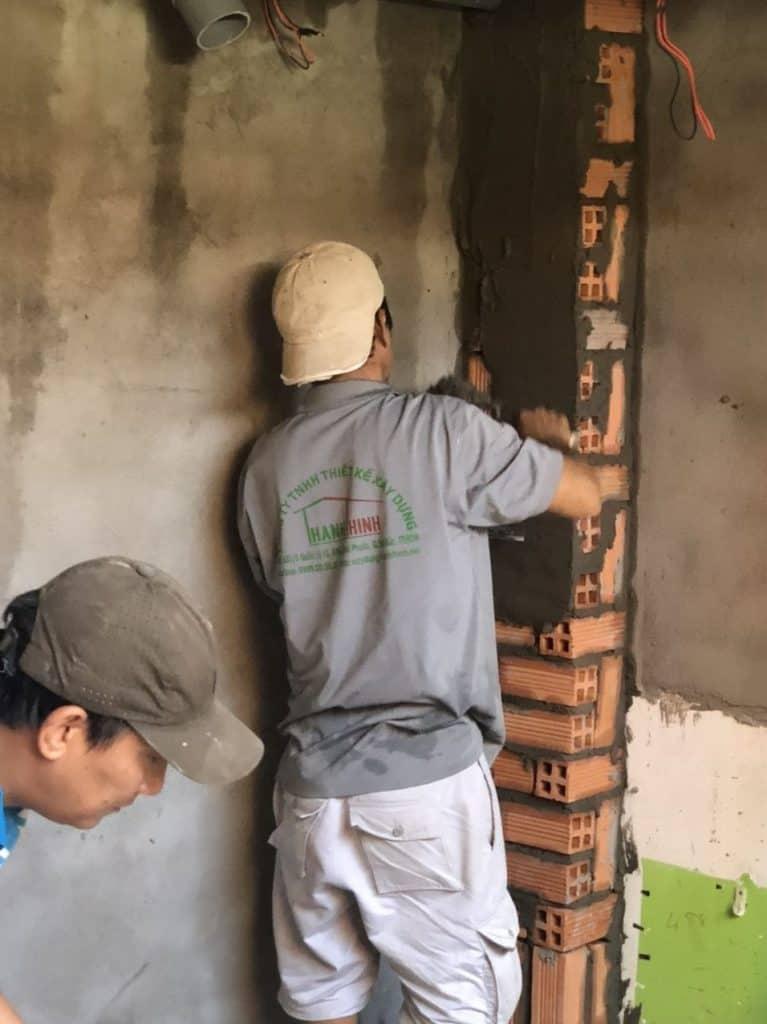 Nâng 2 Tầng Nhà Móng Yếu Bằng Tấm Cemboard Thái Lan ở Phú Nhuận 10