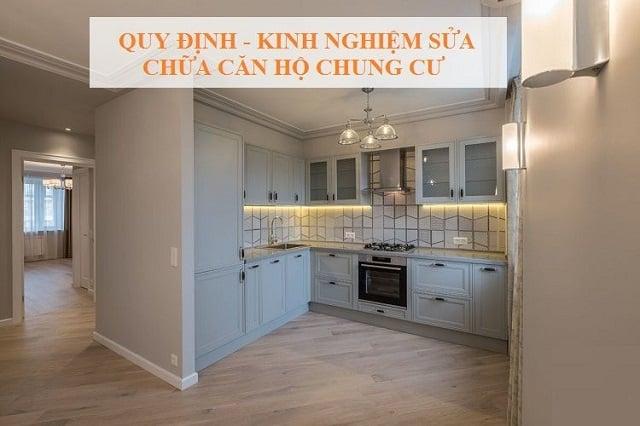 Căn hộ chung cư sau thời gian sử dụng cần được nâng cấp, cải tạo lại