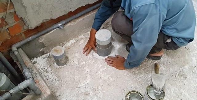 Việc sửa chữa chống thấm trong căn hộ chung cư là vấn đề khó khăn
