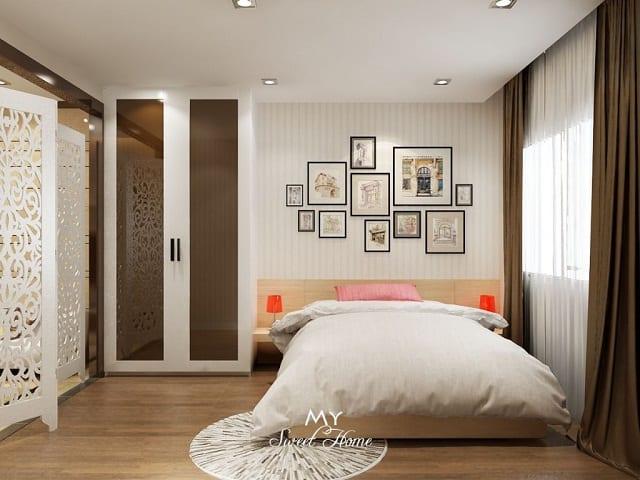 Thiết kế phòng ngủ cũng cần lưu ý một số vấn đề