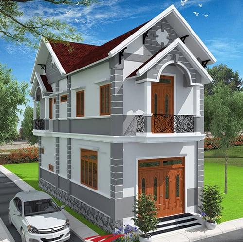 33 mẫu thiết kế nhà hiện đại đẹp ấn tượng nhất 33