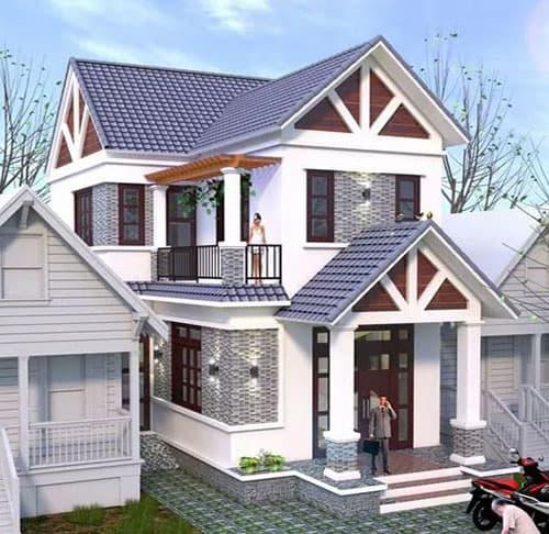 33 mẫu thiết kế nhà hiện đại đẹp ấn tượng nhất 3