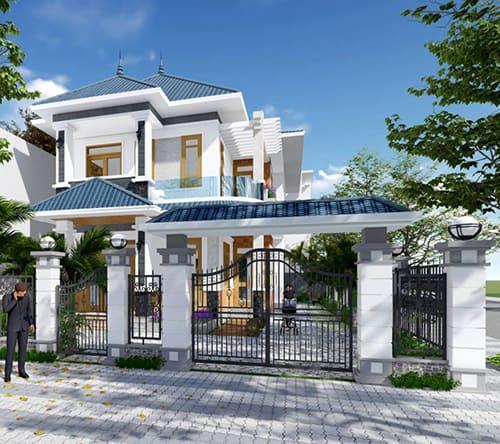 33 mẫu thiết kế nhà hiện đại đẹp ấn tượng nhất 5