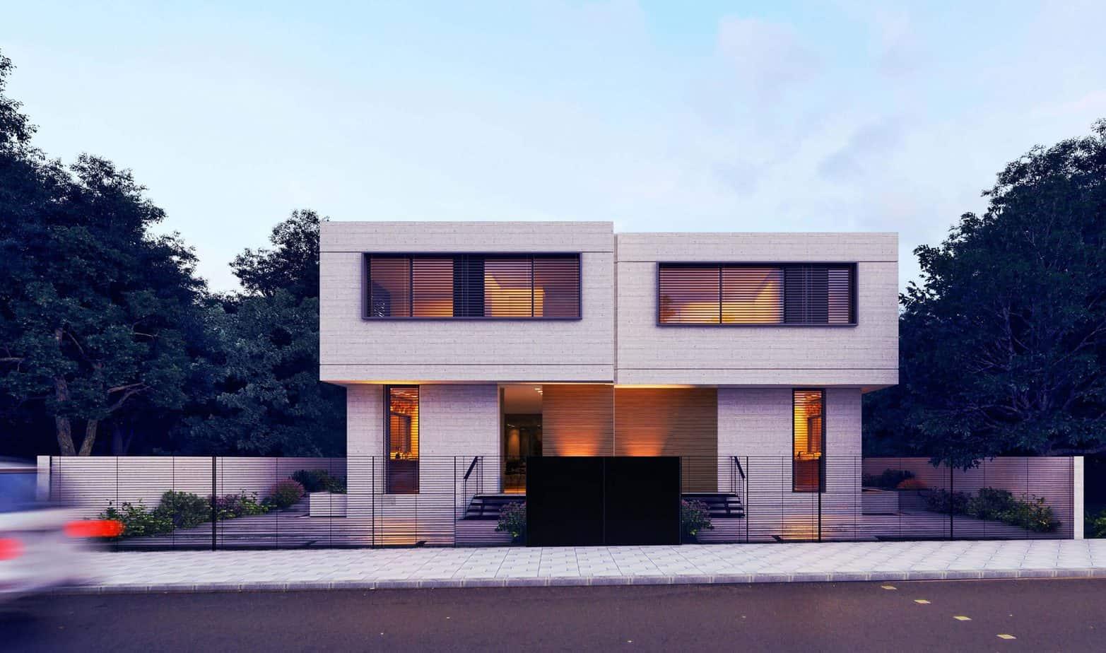 33 mẫu thiết kế nhà hiện đại đẹp ấn tượng nhất 12