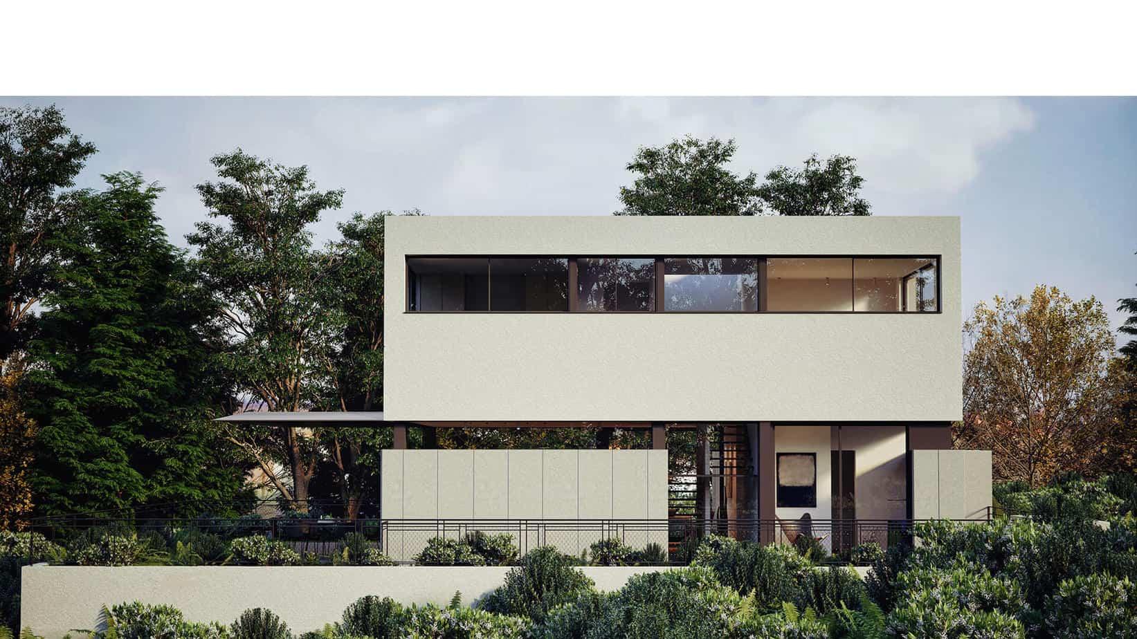 33 mẫu thiết kế nhà hiện đại đẹp ấn tượng nhất 14