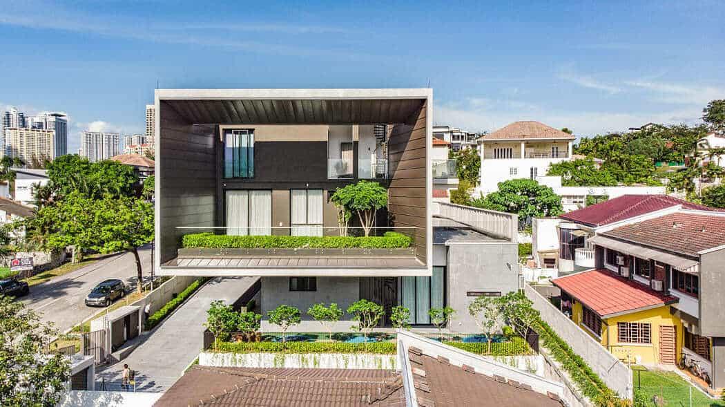 33 mẫu thiết kế nhà hiện đại đẹp ấn tượng nhất 15