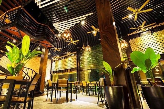 Hiệu ứng ánh sáng trong nhà hàng mang đến cho thực khách những cảm nhận tuyệt vời nhất