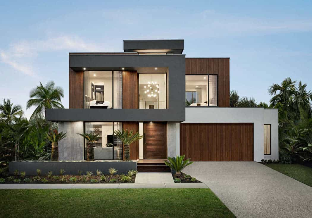 33 mẫu thiết kế nhà hiện đại đẹp ấn tượng nhất 18