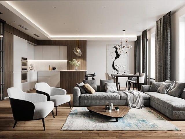 Tổng hợp 33 mẫu thiết kế căn hộ chung cư đẹp ấn tượng nhất