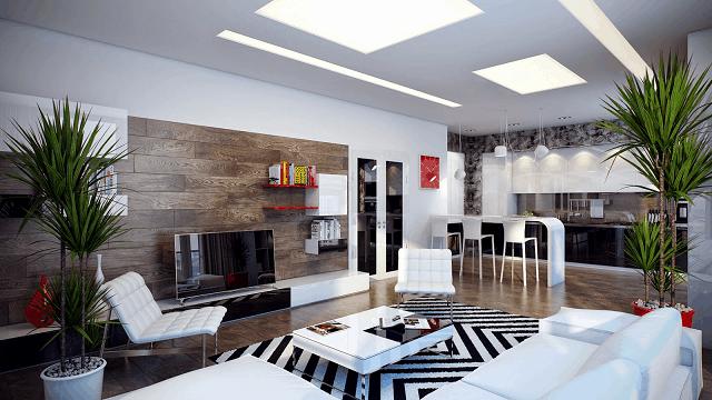 Cách bày trí nội thất trong căn hộ chung cư thường theo nhiều phong cách