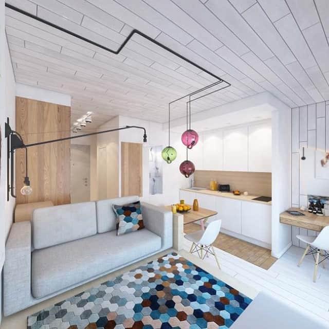 33 mẫu thiết kế căn hộ chung cư đẹp ấn tượng nhất 7