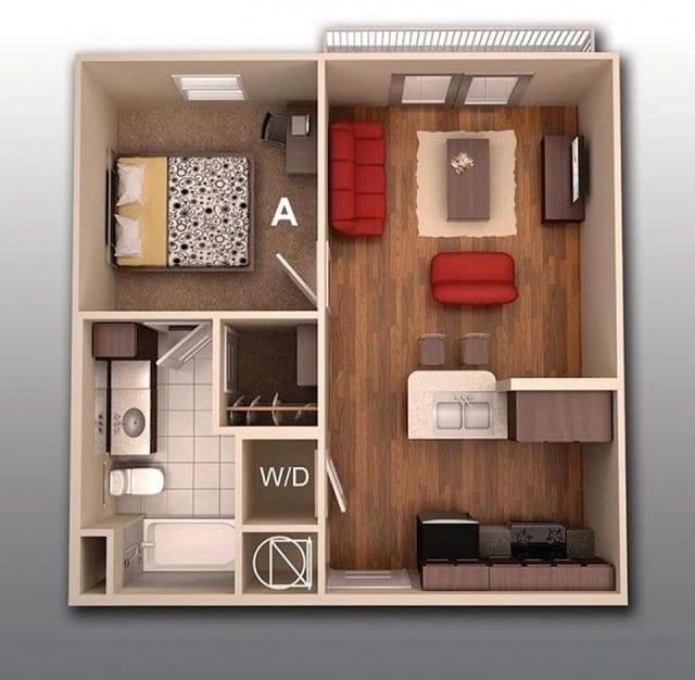 33 mẫu thiết kế căn hộ chung cư đẹp ấn tượng nhất 9