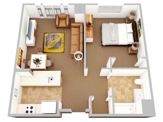 33 mẫu thiết kế căn hộ chung cư đẹp ấn tượng nhất 11