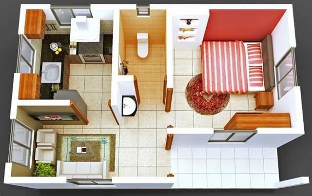 33 mẫu thiết kế căn hộ chung cư đẹp ấn tượng nhất 12