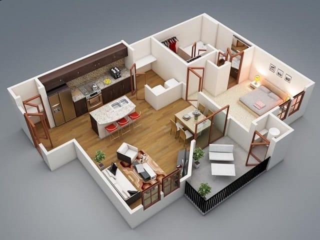 33 mẫu thiết kế căn hộ chung cư đẹp ấn tượng nhất 13