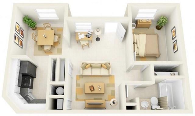 33 mẫu thiết kế căn hộ chung cư đẹp ấn tượng nhất 16