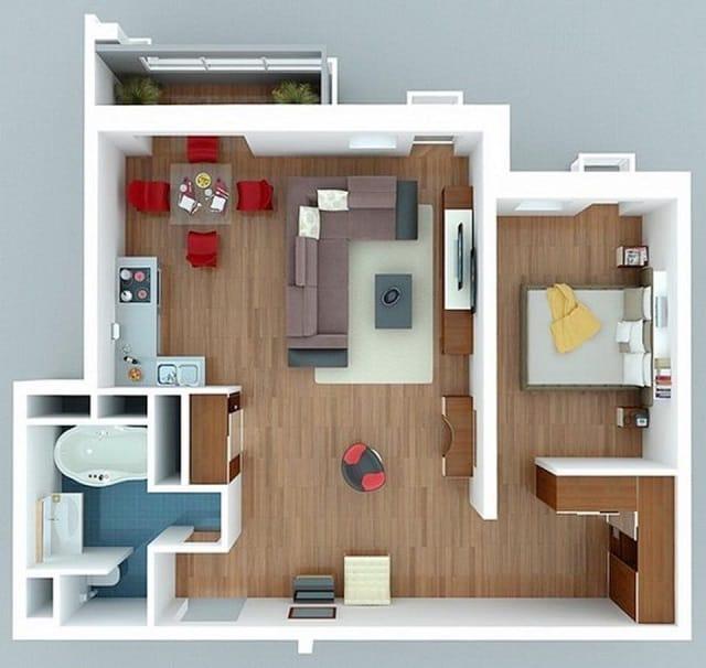 33 mẫu thiết kế căn hộ chung cư đẹp ấn tượng nhất 18