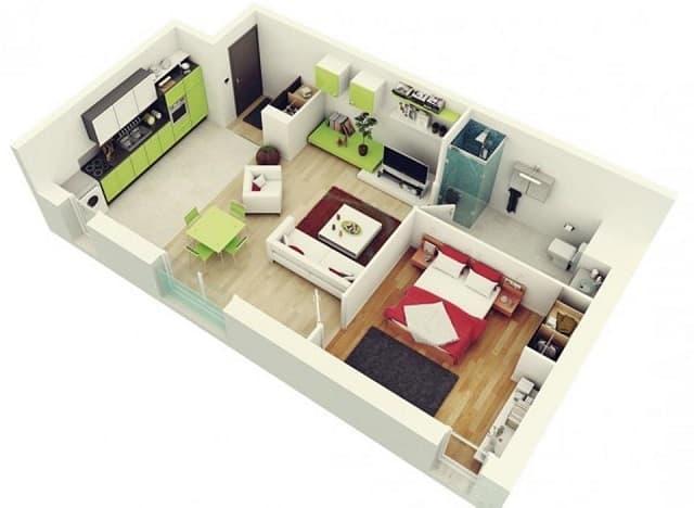 33 mẫu thiết kế căn hộ chung cư đẹp ấn tượng nhất 21