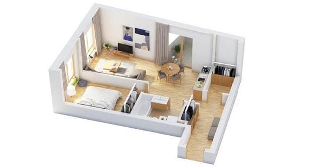 33 mẫu thiết kế căn hộ chung cư đẹp ấn tượng nhất 23