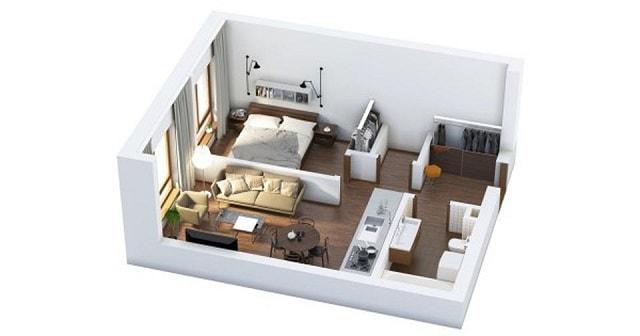 33 mẫu thiết kế căn hộ chung cư đẹp ấn tượng nhất 24